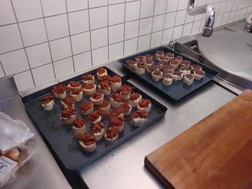 Kochabend 4 2012 Valentin gewechselt für Partnerball
