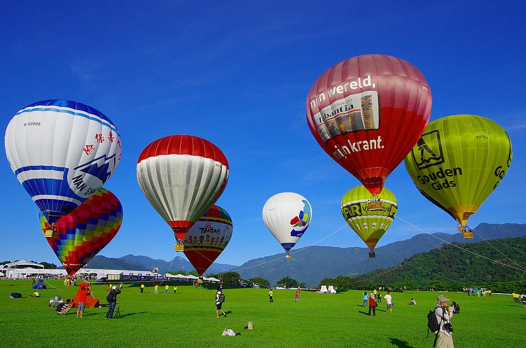後山熱氣球系列