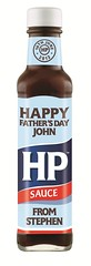 HP Sauce for Father's Day