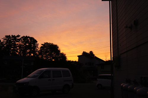 Sunse Sky on Nagaoka