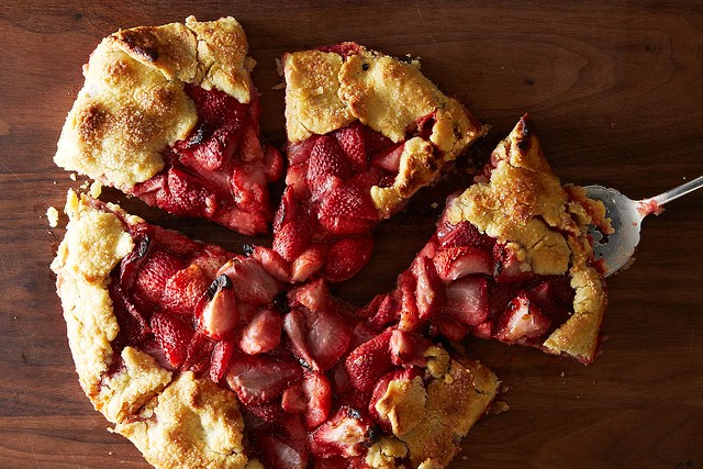 ... to make rustic, free-form fruit tarts -- through summer and beyond