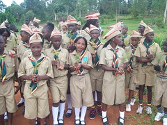 Uganda, makindye scouts earth day Activity