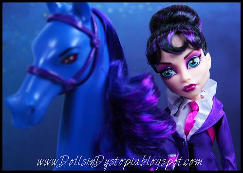 Headmistress Bloodgood Close Up by DollsinDystopia