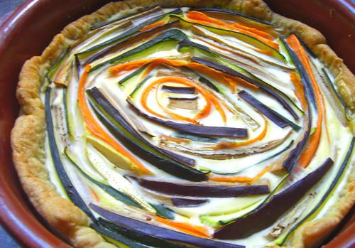 tarta de verduras