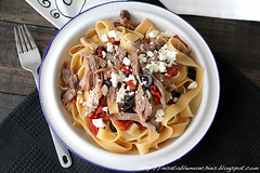 vegetarian food(0.0), spaghetti(0.0), produce(0.0), meal(1.0), breakfast(1.0), pappardelle(1.0), meat(1.0), fettuccine(1.0), food(1.0), dish(1.0), carbonara(1.0), cuisine(1.0),