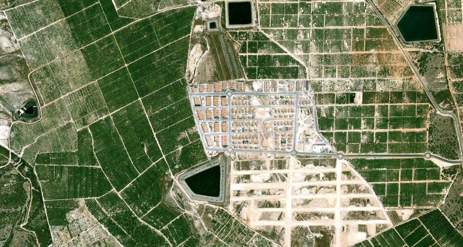 antes, urbanismo, foto aérea, desastre, urbanístico, planeamiento, urbano, construcción,Vistabella, Alicante