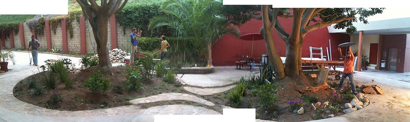 206 Universidad Iberoamericana - Amorphica Design Research Office - Patio progress