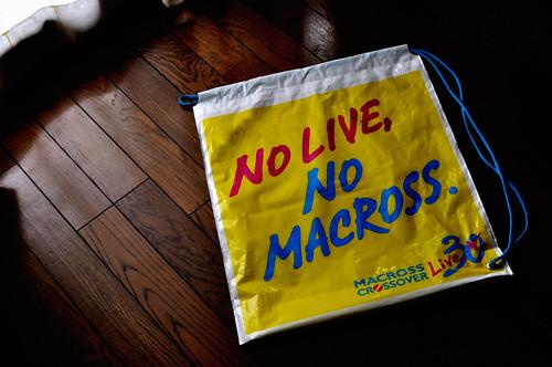 NO LIVE, NO MACROSS
