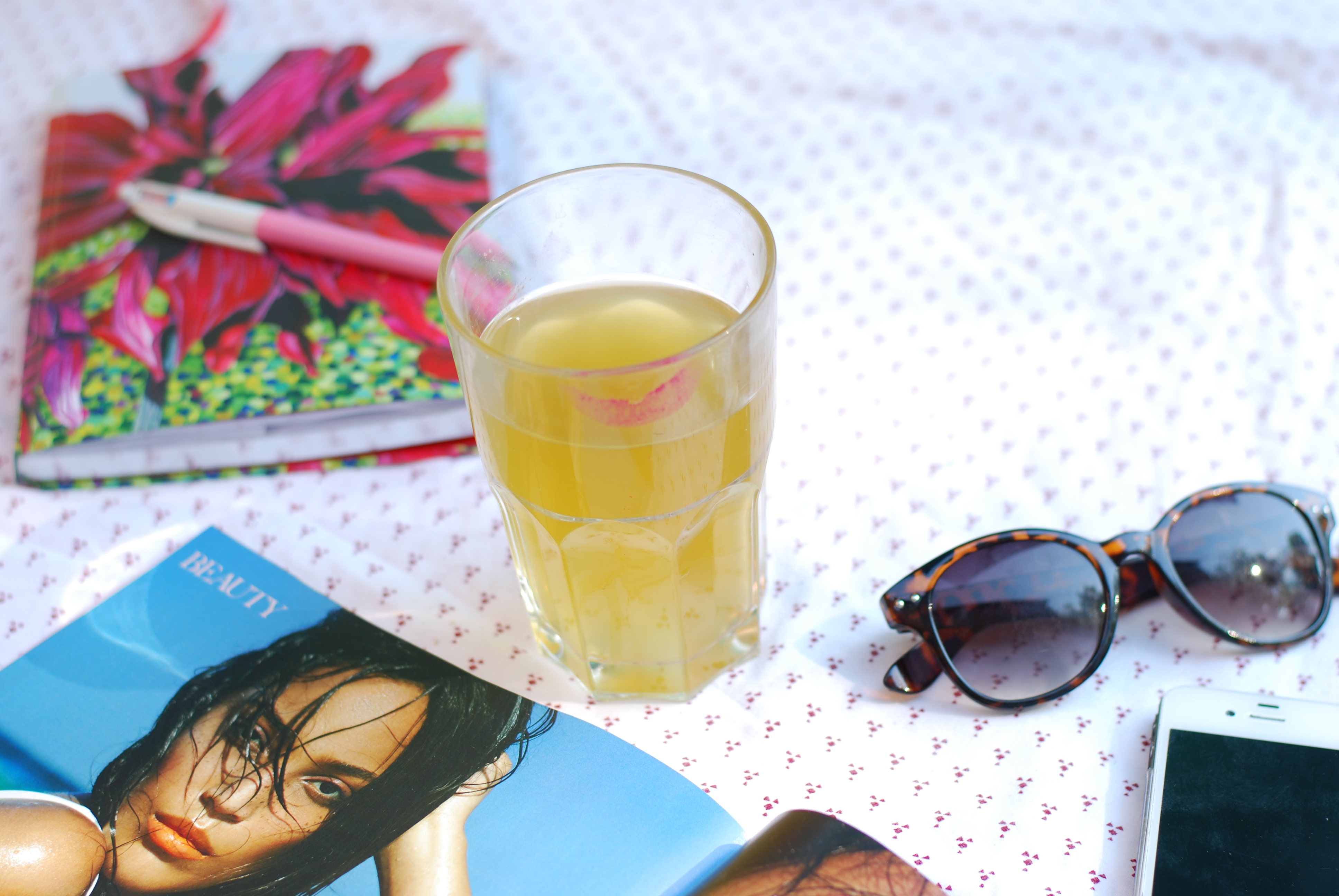 chambray and curls summer afternoon iced tea magazines