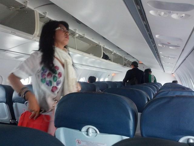 Салон самолета Wings