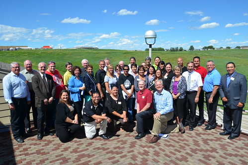 Federal, State, and Tribal partners work on a solution to bring safe, affordable housing to South Dakota's tribal areas. USDA photo.
