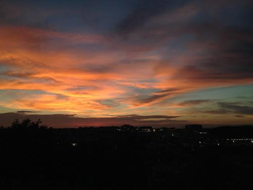 sunset 夕焼け 神戸市