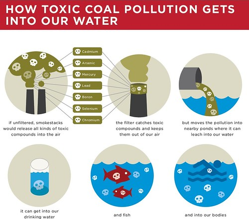 How toxic coal pollution gets into our water.