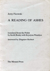 A Reading of Ashes