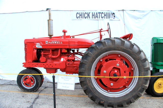 Antique Tractor, DuPage County Fair 2013