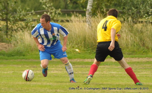 Cliffe FC 4 - 0 Collingham 27Jul13