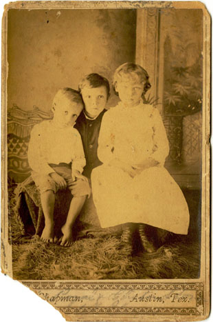 Wellington children, circa 1888