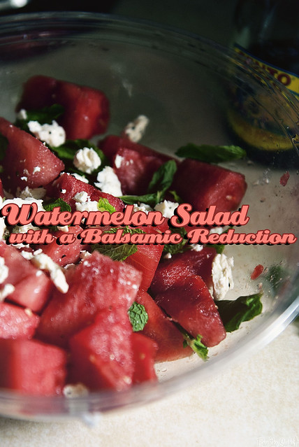 Watermelon Salad from PasstheSushi.com