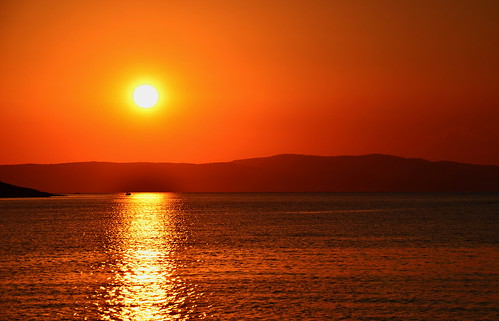 sunset nikon sailing croatia rab