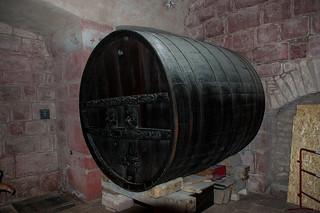 Visite du Château du Haut Koenigsbourg - Tonneau de vin