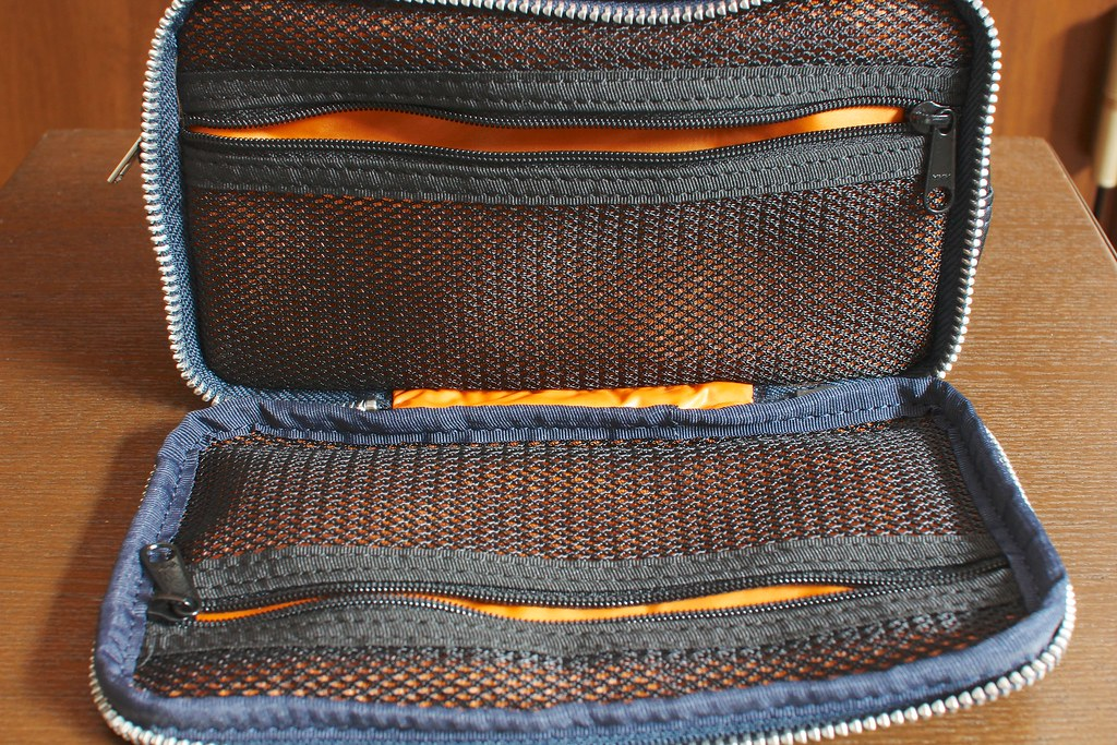 "HEAD PORTER ""TANKER-ORIGINAL"" COSMETIC CASE NAVY"