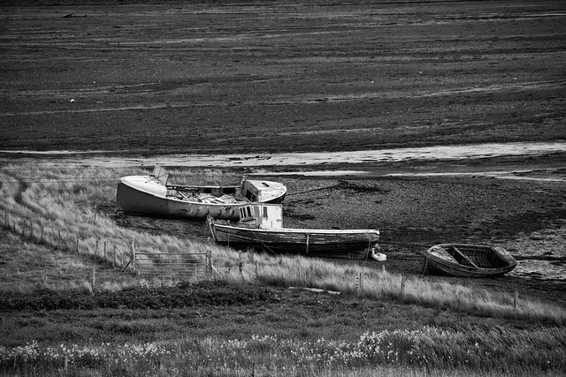 Abandoned Boats on Skye