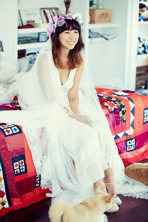 LEE HYORI WEDDING (2)