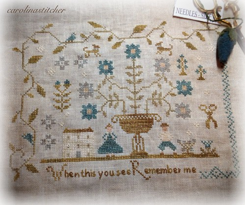 Forget Me Not Sampler