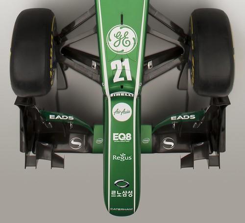 Korean GP RSM branding nose view close up