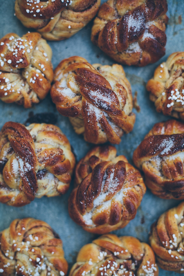 "Making cinnamon ""knots"" is not my thing. Just sayin."