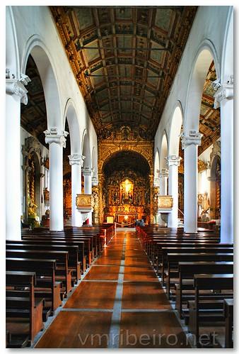 Interior da Igreja do Senhor de Matosinhos. by VRfoto