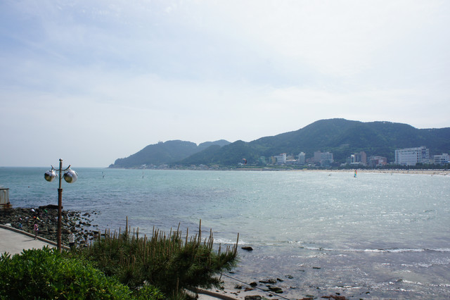 壳沙滩海湾-松亭海水浴场