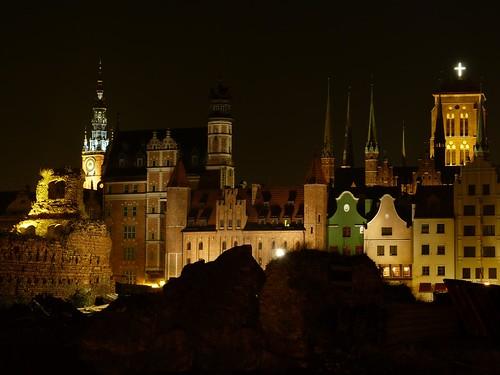 La noche en Gdansk