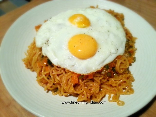 CURRY SPICED MAGGI NOODLE