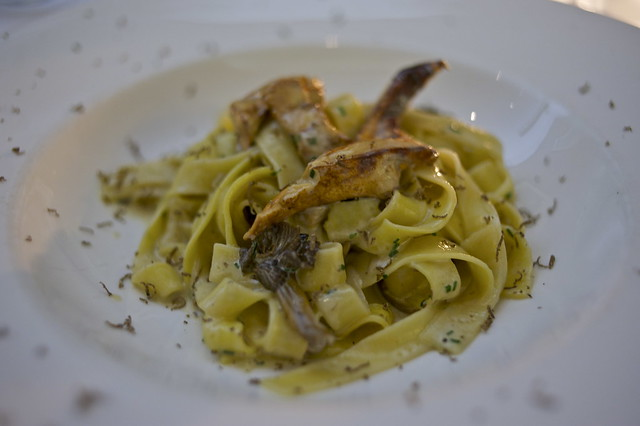 Limited Edition Truffle Tagliatelle at Coq d'Argent - DSC_2179