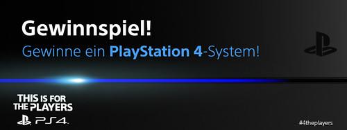 Gewinn jetzt eine PlayStation 4