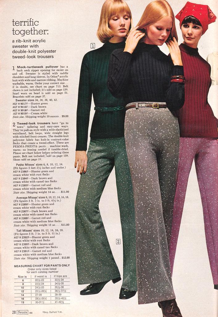 Retrospace Catalogs 37 Sears 1974 Women S Fashion