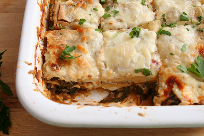 Just made lasagna this weekend. This looks like something I would like ...