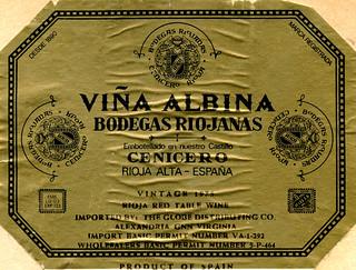 Spain - Albina Cenicero 1975