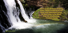 Pray for Overflowing of Living Water