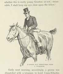 """British Library digitised image from page 132 of """"An African Millionaire, etc [A novel.]"""""""