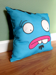 Ol' Blue is now on a pillow