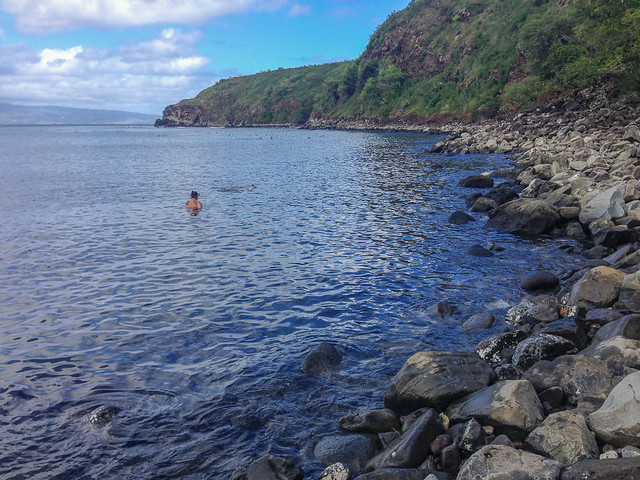 Honolua Bay Snorkeling - Northwest Maui - Hawaii