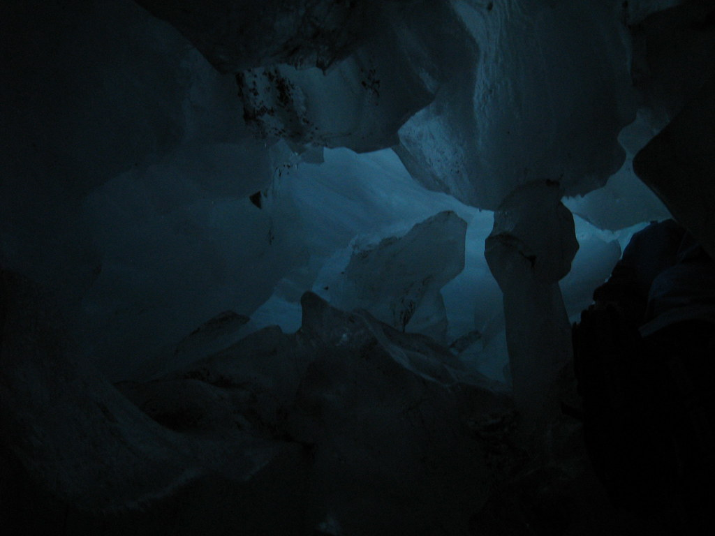 An ice cave on Franz Josef Glacier - New Zealand