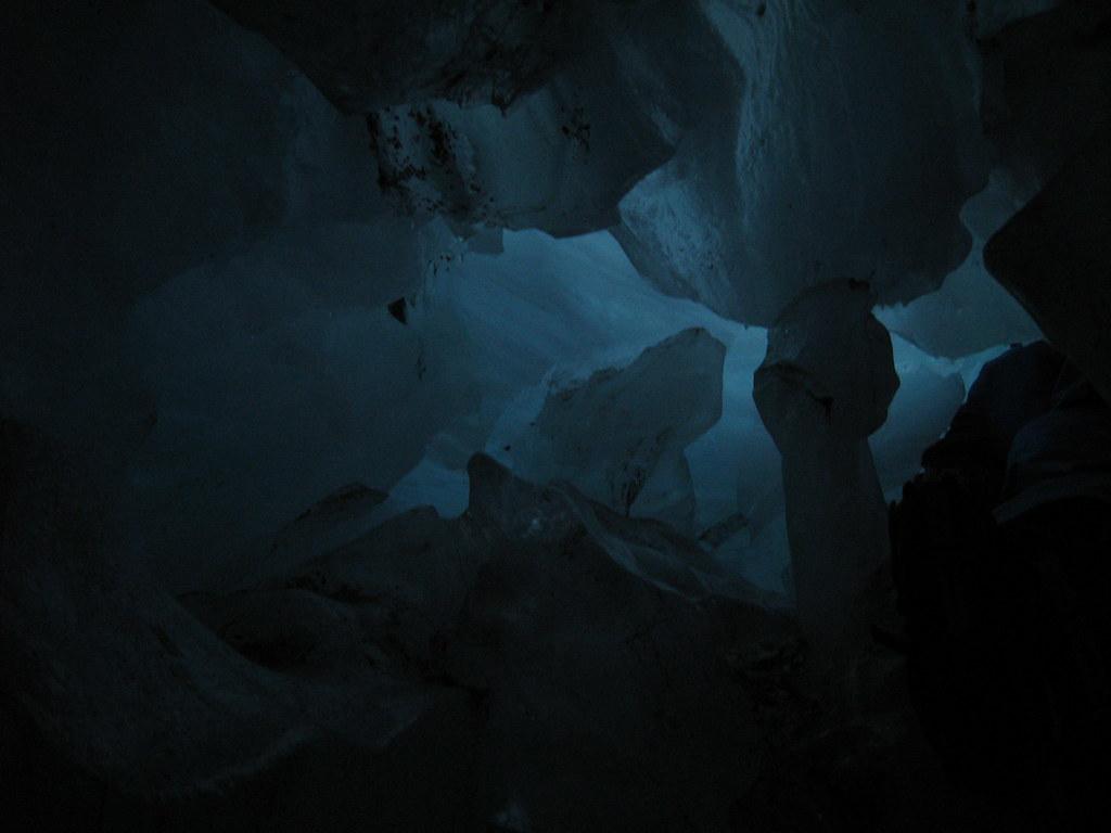 An ice cave on Franz Josef Glacier - New Zealand