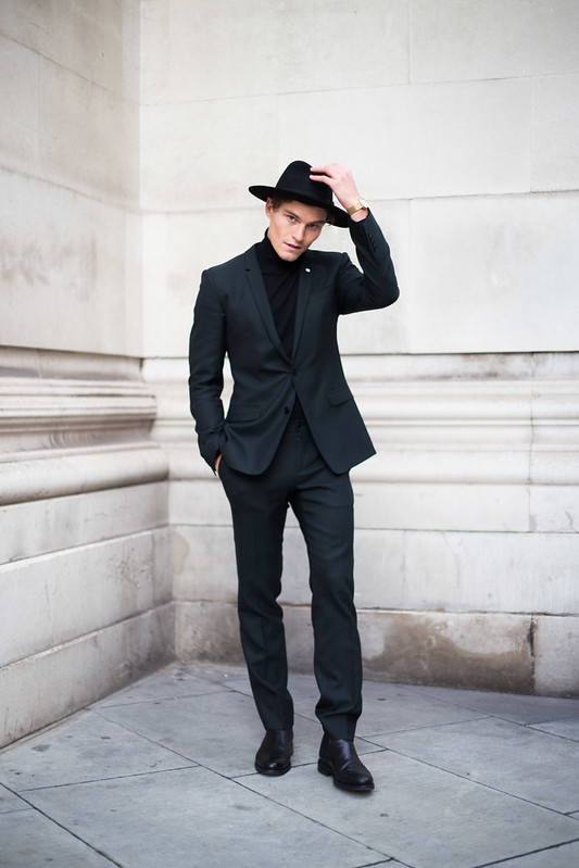 Street Style - Oliver Cheshire, London Collections: Men