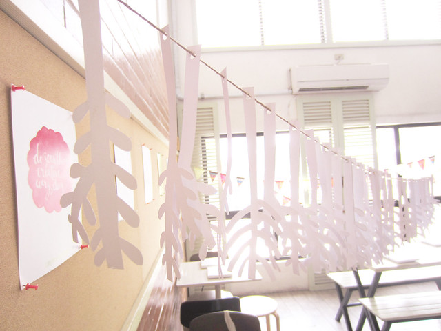 Papercut Garland by Mansy Abesamis