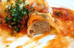 Cannelloni - Füllung / Cannelloni - stuffing