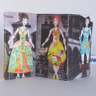 Fashion Fairytale Paper Doll Fabric Book