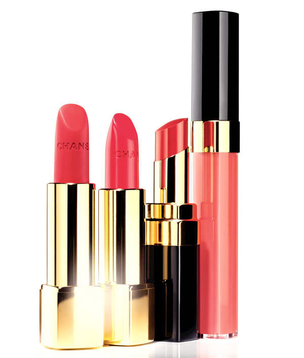 chanel collection variation for spring 2014 pinks and reds